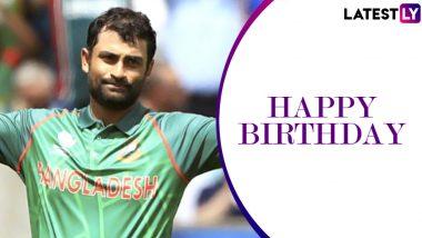 Happy Birthday Tamim Iqbal: Twitterati Wish the Talismanic Batsman As He Turns 31