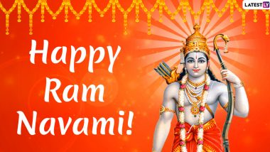 Happy Ram Navami 2020 Wishes in Advance: WhatsApp Stickers, Facebook Greetings, GIF Images, Messages And SMS to Celebrate the Birth of Lord Rama