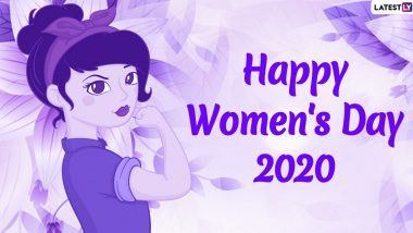 Women's Day Images and HD Wallpapers For Free Download Online: Wish Happy International Women's Day 2020 With WhatsApp Stickers, Facebook GIF Greetings and Messages