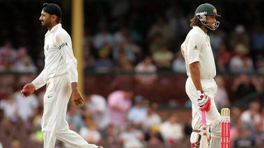 Ricky Ponting Recalls 'Monkeygate Scandal', Reveals Details on What Transpired During the Controversial India vs Australia 2008–09 Test Series