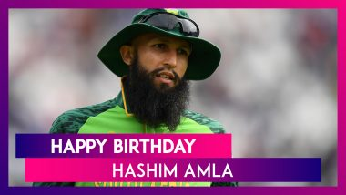 Hashim Amla Birthday Special: Things To Know About Former South African Cricketer