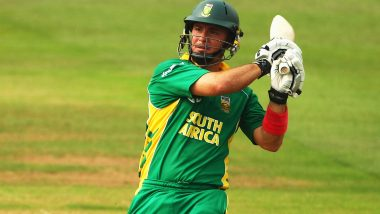 On This Day: When Herschelle Gibbs Became The First Batsman in ODIs to Hit Six Sixes in an Over (Watch Video)