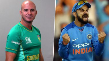 Herschelle Gibbs Participates in ICC's Isolation Game, To Go 'Toe to Toe in Gym' With Virat Kohli