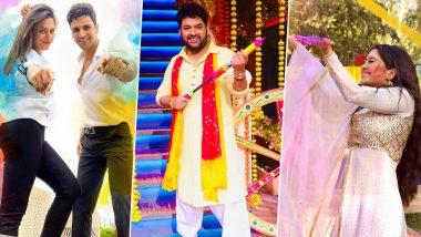 Holi 2020: Divyanka Tripathi, Vivek Dahiya, Kapil Sharma, Shivangi Joshi and Others Wish Fans On The Auspicious Occasion (View Posts)