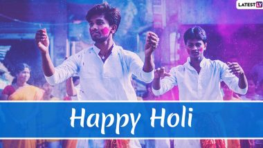 Happy Holi 2020! HD Images, Messages, Pics and Dhulandi Greetings Along with WhatsApp Stickers, GIFs and SMS to Wish Holi to Loved Ones
