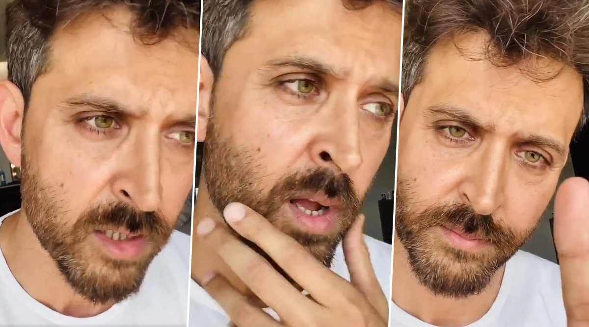 Hrithik Roshan Urges Fans To Stay At Home, Lays Out Simple Steps! (Watch Video)