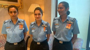 Indian Air Force's First Female Fighter Pilots Say 'Being First or Woman Doesn't Matter, Being a Fighter Pilot Does'