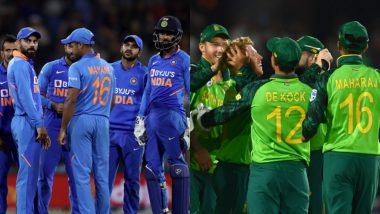 India vs South Africa ODI Series 2020 Schedule in IST, Free PDF Download: Get Fixtures, Time Table With Match Timings and Venue Details of IND vs SA