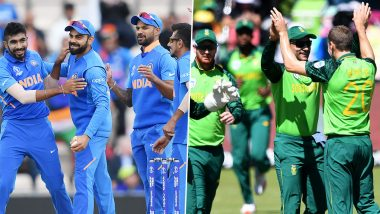 IND vs SA Head-to-Head Record: Ahead of ODI Series, Here Are Match Results of Last 5 India vs South Africa One Day International Games