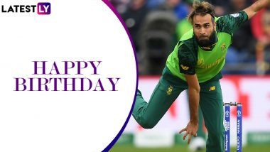 Imran Tahir Birthday Special: From Salesman to Cricketer, Some Facts You Need to Know About the South African Cricketer As He Turns 41