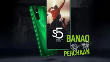 Infinix S5 Pro With A 16MP Pop-up Selfie Camera Launched in India For Rs 9,999; Check Features, Variants & Specifications