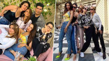 Kareena Kapoor Khan and Malaika Arora's Glam Squad had the Perfect Weekend Celebration (View Pics)