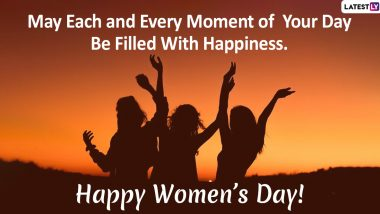 International Women's Day 2020 Messages and Images: WhatsApp Stickers, GIF Images, Telegram Greetings to Send Happy Women's Day Wishes