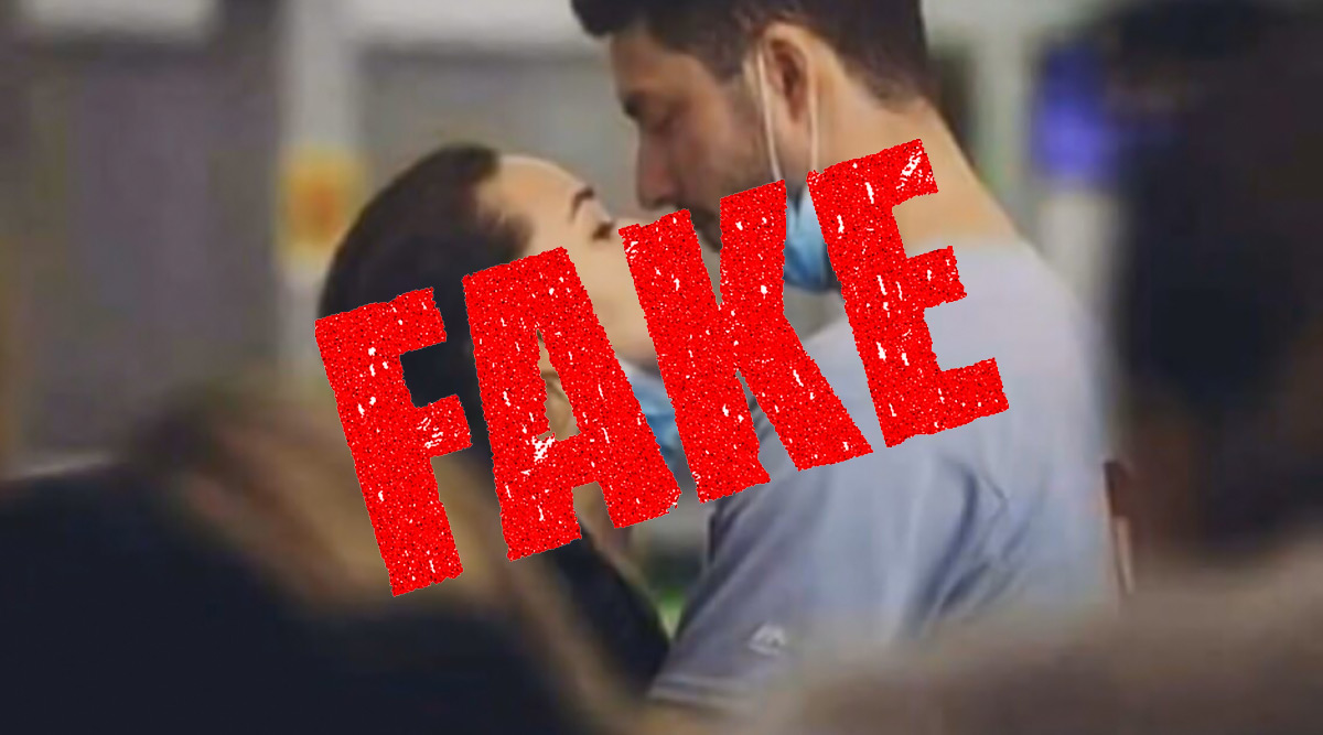 Fact Check: Did Italian Doctor Couple Die After Treating Coronavirus Patients? Know Truth Behind Viral Photo Showing Them Share a Last Kiss