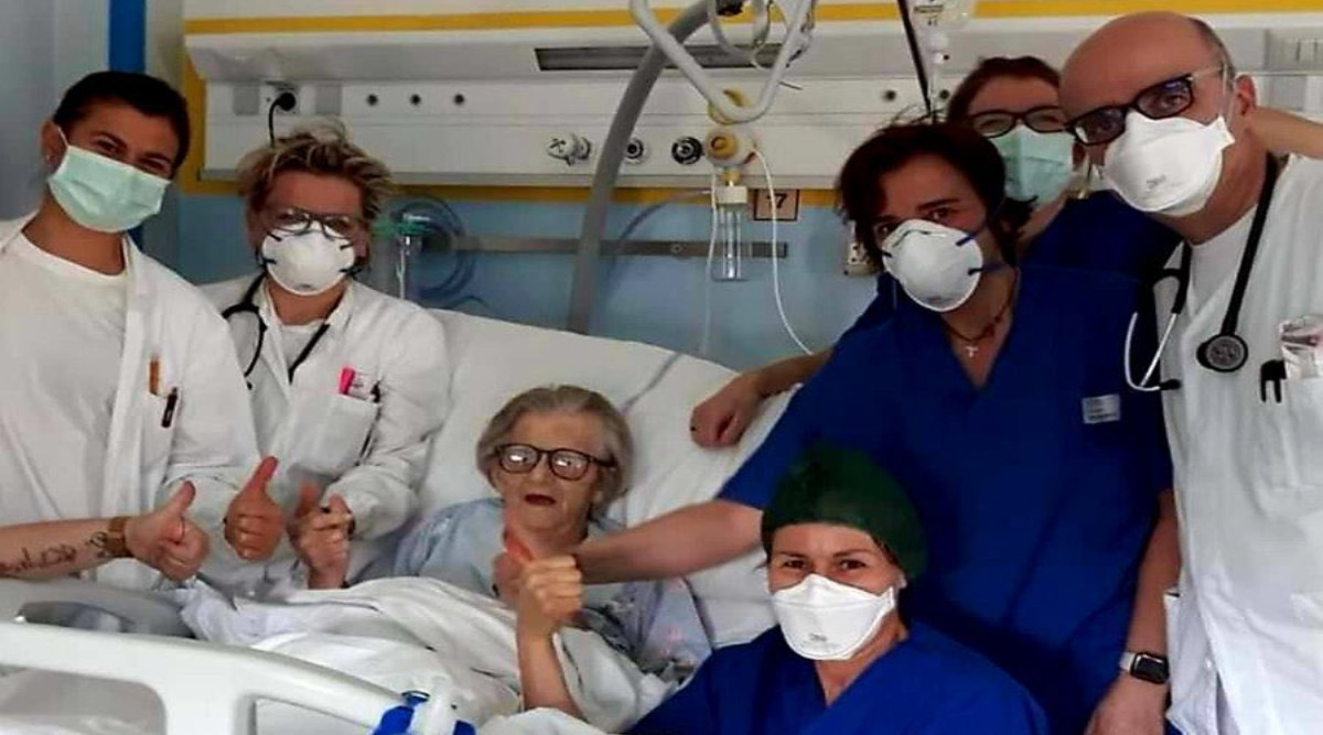 Coronavirus in Italy: 101-Year-Old Man, Who Survived World War 2 and Spanish Flu, Recovers from COVID-19 Infection