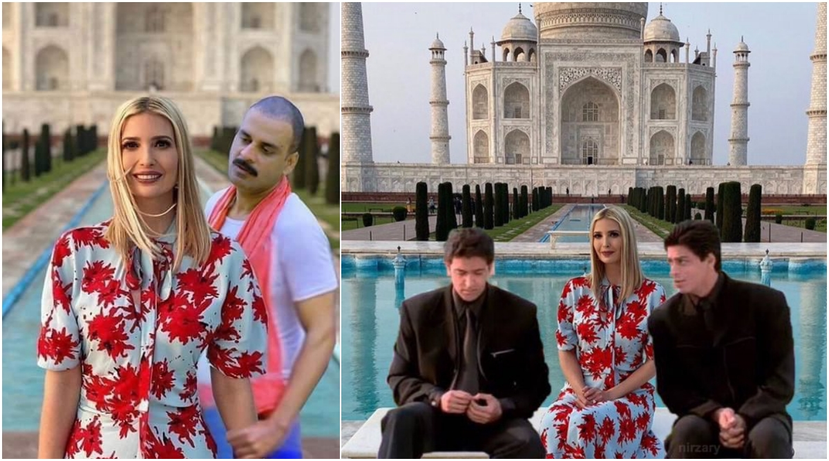 Ivanka Trump S Photos At Taj Mahal Photoshopped In Funny Memes Check Us President Donald Trump S Daughter S Reply On Making New Friends Latestly