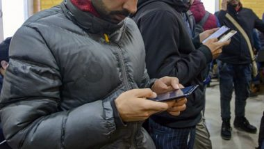 Jammu and Kashmir: 2G Mobile Internet Services Extended Till April 27 In the Union Territory, Says Govt