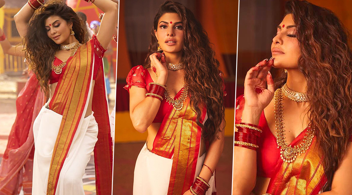 Jacqueline Fernandez Is Sultry, Saucy and Beautifully Addictive as the Bengali Bombshell in Badshah's New Song, Genda Phool!