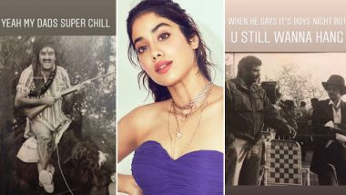 Janhvi Kapoor Shares Throwback Pictures Of Boney Kapoor And Sridevi And Our Favourite Is The One From Mr India