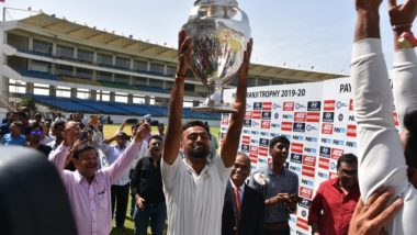 Jaydev Unadkat Relishes Ranji Trophy 2019–20 Title Win, 'A Lifetime of Memories' Says Saurashtra Captain (See Post)