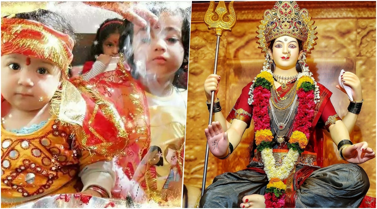 Kanya Pujan 2020 Date & Puja Vidhi: Know Significance of Kanjak Puja During Chaitra Navratri