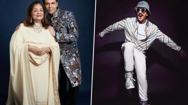 Karan Johar's Mom Declares Sindhi As the Best Community During Her High-Tea Time, and Ranveer Singh's Reaction To It is Epic (Watch Video)
