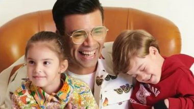 Karan Johar Asks His Kids Yash and Roohi About Coronavirus and Their Innocent Response Wins the Internet (Watch Video)