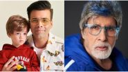 Karan Johar's Son Yash Thinks Amitabh Bachchan Can Take Away The Coronavirus Pandemic and Their Conversation is Adorable (Watch Video)