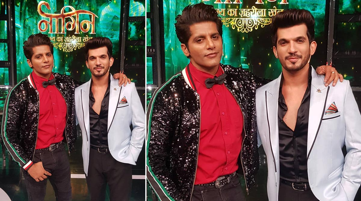 Karanvir Bohra Signs Up Arjun Bijlani for a 21 Question Series Online