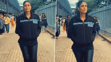 Angrezi Medium Star Kareena Kapoor's Slow Motion Walk on Imagine Dragons Hit Song Believer Gives Us Chills (Watch Video)
