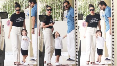 Kareena Kapoor Khan Is Living a Life Beyond Your Wildest Dreams, Her Wordy Tee Shirt Certainly Says So!