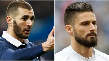 Real Madrid Striker Karim Benzema Mocks France Teammate Olivier Giroud With 'Go-Kart' Comparison