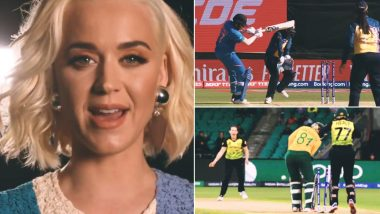 ICC Women's T20 World Cup 2020 Final: ICC, Katy Perry Urges India and Australia to Be 'Brave, Fierce & Make Crowd Roar' in Inspiring Video Ahead of Summit Clash