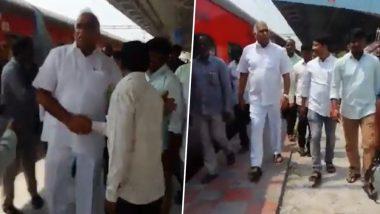 Coronavirus Scare in Telangana: TRS MLA Koneru Konappa Defies Quarantine, Travels By Train And Attends Events
