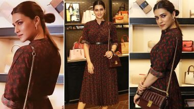 Kriti Sanon Dressed From Top to Toe in Coach Spells Luxury in Every Detail!