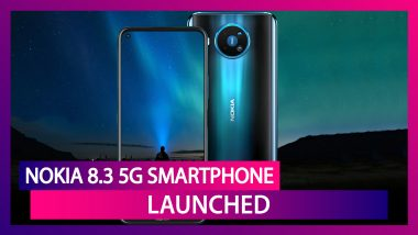 Nokia 8.3 5G Sporting A 64MP Quad Camera Setup Launched; Check Price, Variants, Features & Specifications