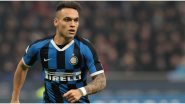 Lautaro Martinez Transfer Update: Inter Milan Striker's Agent Confirms Ongoing Talks With 'Many Clubs' Amid Interest From Barcelona and Real Madrid