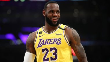 LeBron James Picks Cristiano Ronaldo and Entire Liverpool Squad As His Favourite Football Players (Watch Video)