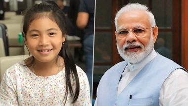 Licypriya Kangujam, 8-Year-Old Child Environmental Activist, Turns Down PM Narendra Modi's Offer to be Part of #SheInspiresUs Campaign For Women's Day 2020