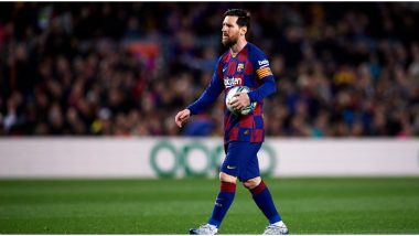 Lionel Messi Takes Up #ToiletRollChallenge! Barcelona Star's Touch Is Pure Class and Full of Grace (Watch Video)