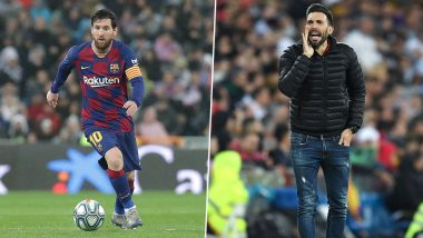 Lionel Messi Involved in a Heated Argument With Barcelona Assistant Coach Eder Sarabia Post 0–2 El Clasico Defeat to Rivals Real Madrid