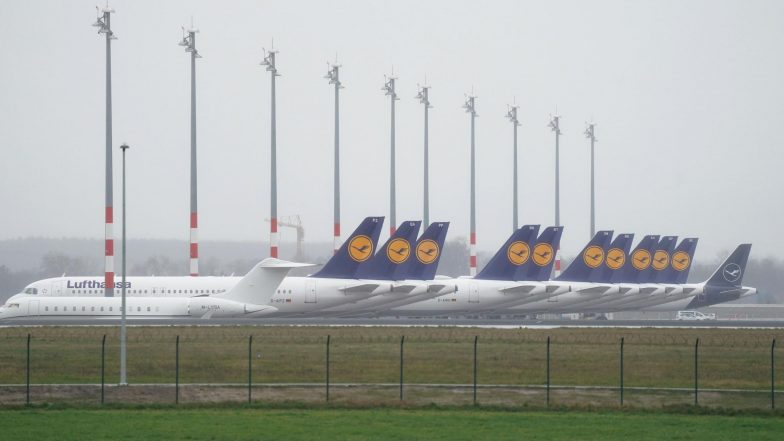 Coronavirus Outbreak: German Airline Lufthansa to Cancel 23,000 Flights in April Over COVID-19 Scare