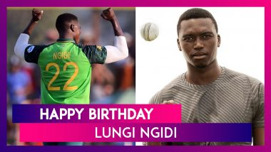 Happy Birthday Lungi Ngidi: Things To Know About South African Speedster