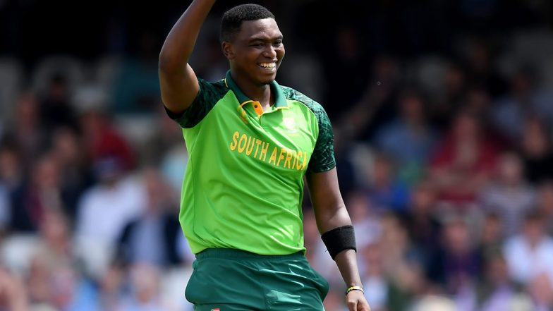 Lungi Ngidi Becomes Fastest South African Bowler to Reach 50 ODI Wickets, Achieves Feat During South Africa vs Australia 2nd ODI 2020