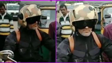 MS Dhoni Spotted Riding a Bike in Ranchi, Fans Take Selfie With CSK Captain As IPL 2020 is Suspended, Watch Video
