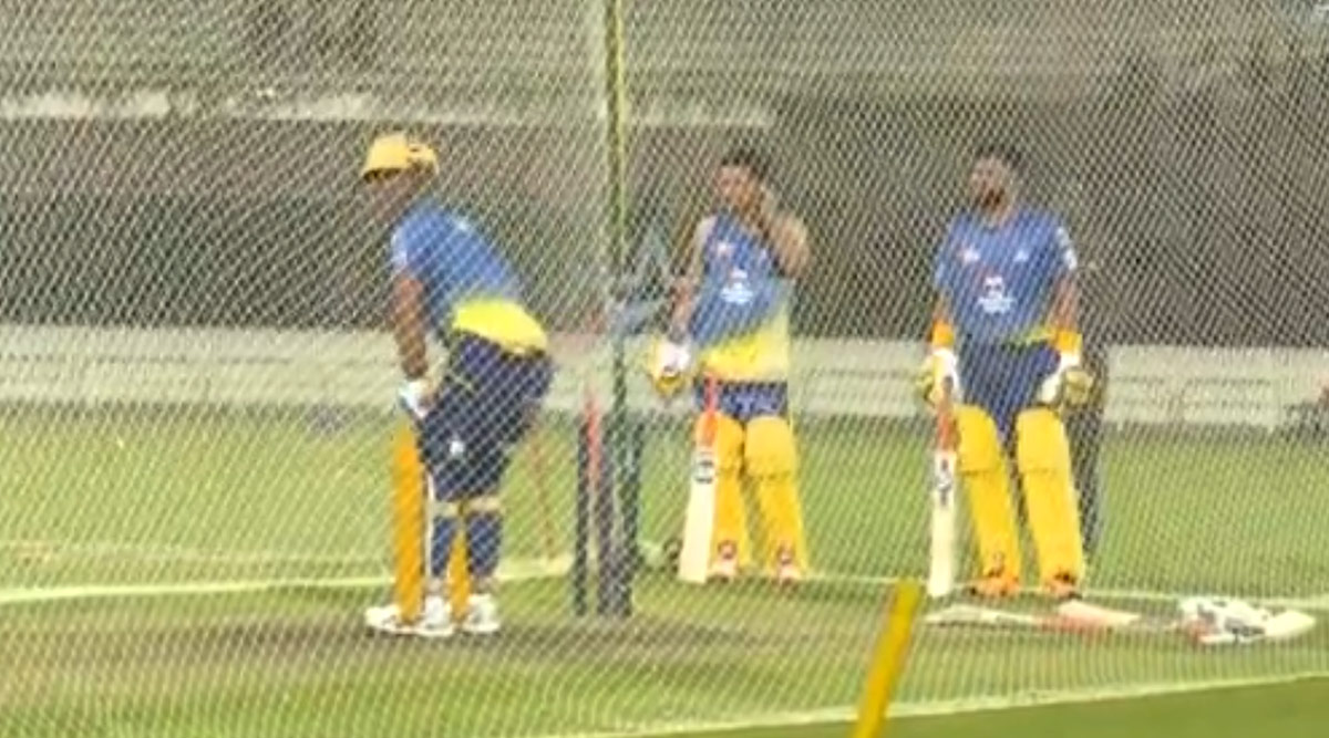 Chennai Super Kings Posts Unseen Video of MS Dhoni Slamming Sixes in the Nets, Attempts to Cheer Fans Amid Coronaviurs Crisis