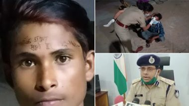 Madhya Pradesh Migrant Labourer Shamed by Police in Chhatarpur Amid Complete Lockdown, Officer Writes 'I Have Violated Lockdown, Stay Away From Me' on His Forehead; Video Goes Viral