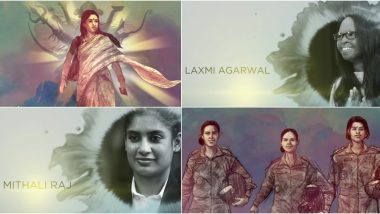 Woman's Day 2020: Vakeel Saab's First Song Maguva Maguva Celebrates Spirit Of Womanhood Honouring Laxmi Agarwal, Mithali Raj Among Others (Watch Video)