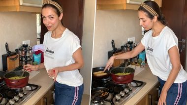 Malaika Arora Taps Her Passion, Cooks 'Malabari Stew' for the Family During Her Self-Quarantine Time (Watch Video)