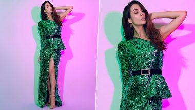 Malaika Arora Is Hot, Haute, Happening and Gloriously Glittery in Green!